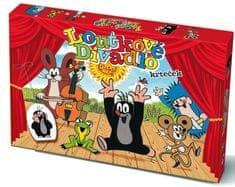 Teddies Bábkové Divadlo Krtko papierové 6 ks postavičiek