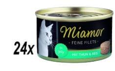 Finnern hrana za mačke Miamor, tuna i riža, 24 x 100 g
