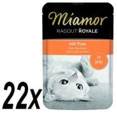 Finnern hrana za mačke Miamor, pureći ragu, 22 x 100g