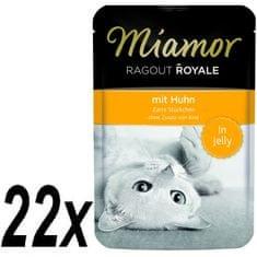 Finnern hrana za mačke Miamor, pileći ragu, 22 x 100g