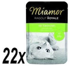 Finnern hrana za mačke Miamor, zečji ragu, 22 x 100g