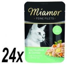 Finnern hrana za mačke Miamor tuna i povrće na žaru, 24 x 100 g