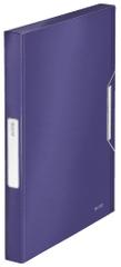Leitz Box na spisy Style titanově modrý