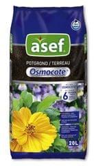 Asef Asef univerzalna zemlja za lončanice s dodanim gnojivom Osmocote, 20 l