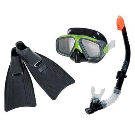 Intex potapljaški set - dihalka, očala in plavuti, 41-45