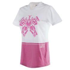 Dainese dámske tričko s krátkym rukávom LAGUNA SECA LADY biela/ružová