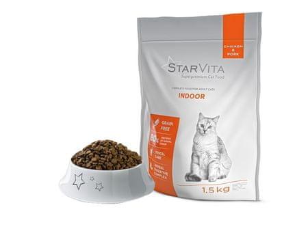 Starvita Granulátum benti macskák számára 1,5kg