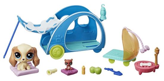 Littlest Pet Shop Tématický set se zvířátkem – Cozy Camper