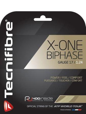 Tecnifibre tenis struna X-One biphase - set