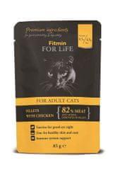 Fitmin hrana za mačke Cat pouch adult chicken, okus piletine, 85 g