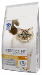 Perfect fit Sensitive sucha karma dla kotów wrażliwych, indyk 7kg