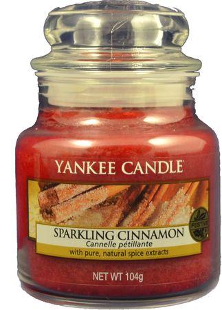 Yankee Candle Sparkling Cinnamon Classic malý 104 g