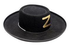 Carnival Toys Fiestas Guirca šešir Zoro, veliki, 13531