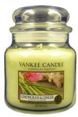 Yankee Candle Lemongrass & Ginger Classic stredná 411 g
