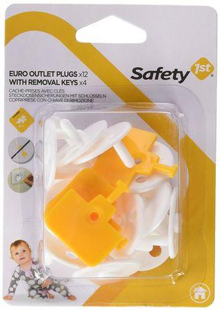 Safety 1st zaščita za vtičnico + ključek za odstranitev