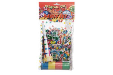 Carnival Toys papirčki + trakovi + piščalka (4484)