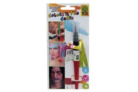 Carnival Toys čopič četka s bojom za lice, crvena (7375)