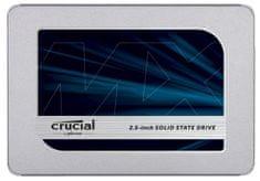 Crucial disk SSD MX500 1TB 2.5 SATA3 3D TLC, 7mm