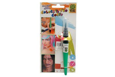 Carnival Toys čopič z barvo za obraz, zelen (7376)