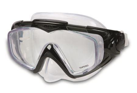 Intex maska za ronjenje Aqua crna