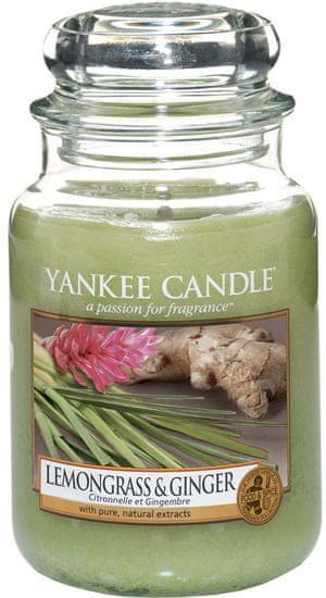 Yankee Candle Lemongrass & Ginger Classic velký 623 g