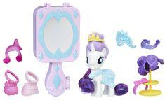 My Little Pony Zavírací hrací set - Rarity - rozbaleno