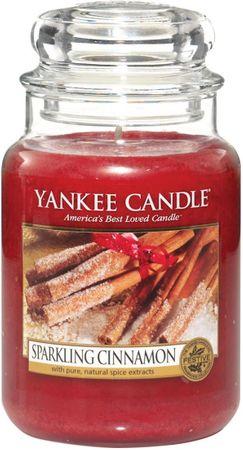 Yankee Candle Sparkling Cinnamon Classic nagy 623 g