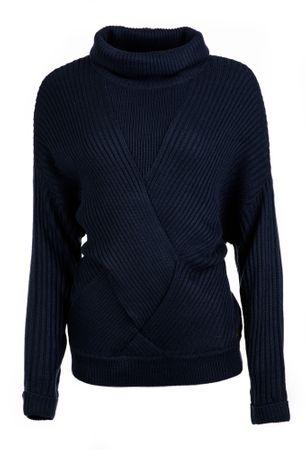 Pepe Jeans ženski pulover Louise L temno modra
