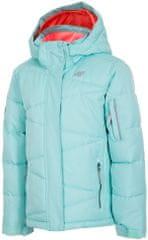 4F dziewczęca kurtka narciarska J4Z17 JKUDN301 miętowy jasny