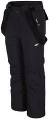 4F chłopięce spodnie narciarskie J4Z17 JSPMN300 czarny