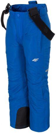 4F chłopięce spodnie narciarskie J4Z17 JSPMN301 niebieski 98