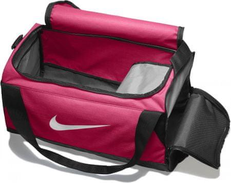 ca37b5d345979 Nike torba sportowa Brasilia (Small) PiNK Black White 32L | MALL.PL