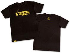 Black Cat Triko T-Shirt Black