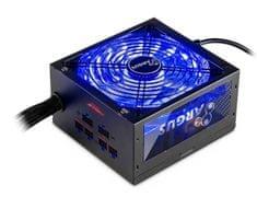 Inter-tech modularno napajanje Argus RGB-750W CM, 80Plus Gold, ATX