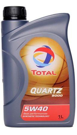 Total motorno olje Quartz 9000 5W-40, 1l