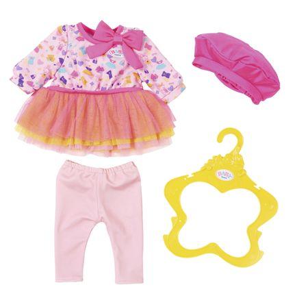 BABY born Ruhácska rózsaszín barettsapkával