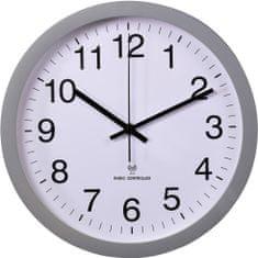 HAMA Zegar ścienny PG-300, z sygnałem radiowym – cicha praca
