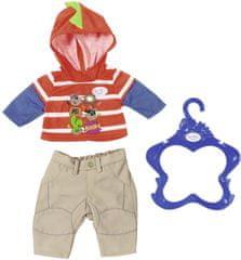BABY born Oblečenie na chlapečka oranžová mikina
