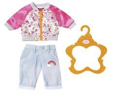 BABY born Bunda a kalhoty růžová