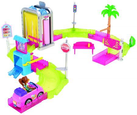 Mattel Barbie mini Kocsimosó játékkonzol