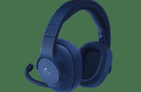 Logitech Gaming G433, 7.1 Surround, kraljevsko plave