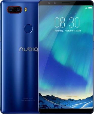 nubia Z17s, 8GB/128GB, Aurora Blue