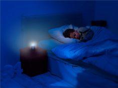 Pabobo Automatické noční světlo Nomade azurová - použité