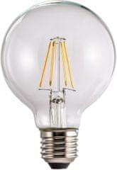HAMA Xavax LED filament žiarovka, E27, guľa