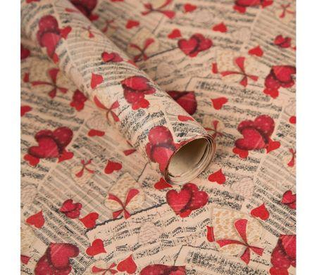Giftisimo Balicí papír, noty a srdce, 5 archů