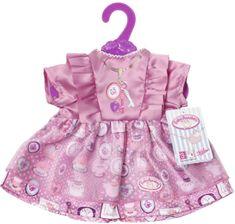 Baby Annabell fioletowa sukienka