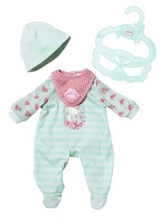 Baby Annabell Moje Pierwsze Śpioszki, turkusowe