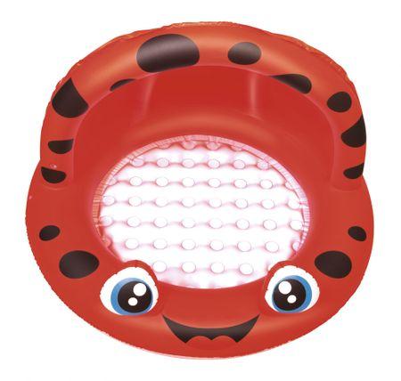 31f1f89fb4f7d Bestway Nafukovací bazén so strieškou, Červený, průměr 97 cm x 66 cm ...