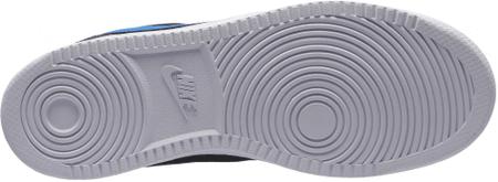 Nike Court Borough Low Shoe Black Blue Nebula Dark Grey White 43