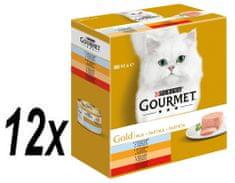 Gourmet Gold Multipack 12 x (8x85g) - pástétom